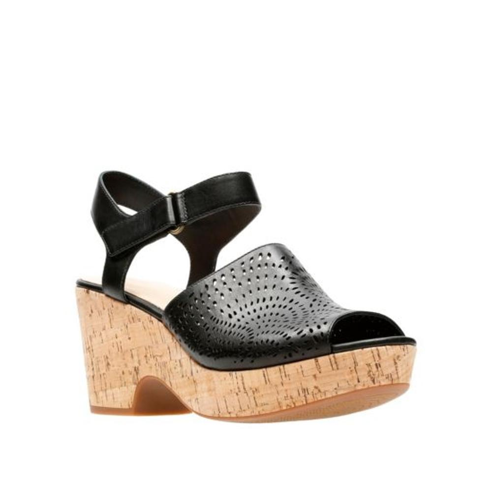 Clarks Women's Maritsa Nila Sandals BLACK