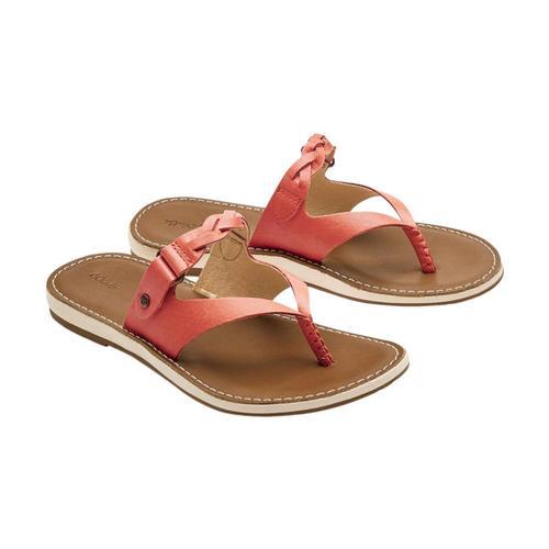 OluKai Women's Kahikolu Sandals Peach