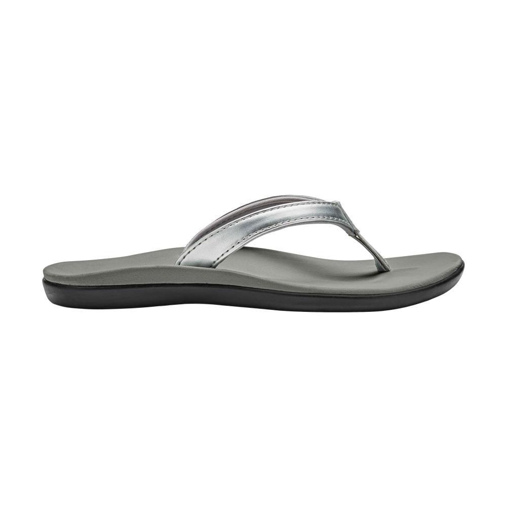 OluKai Girl's Ho'opio Sandals SILVER