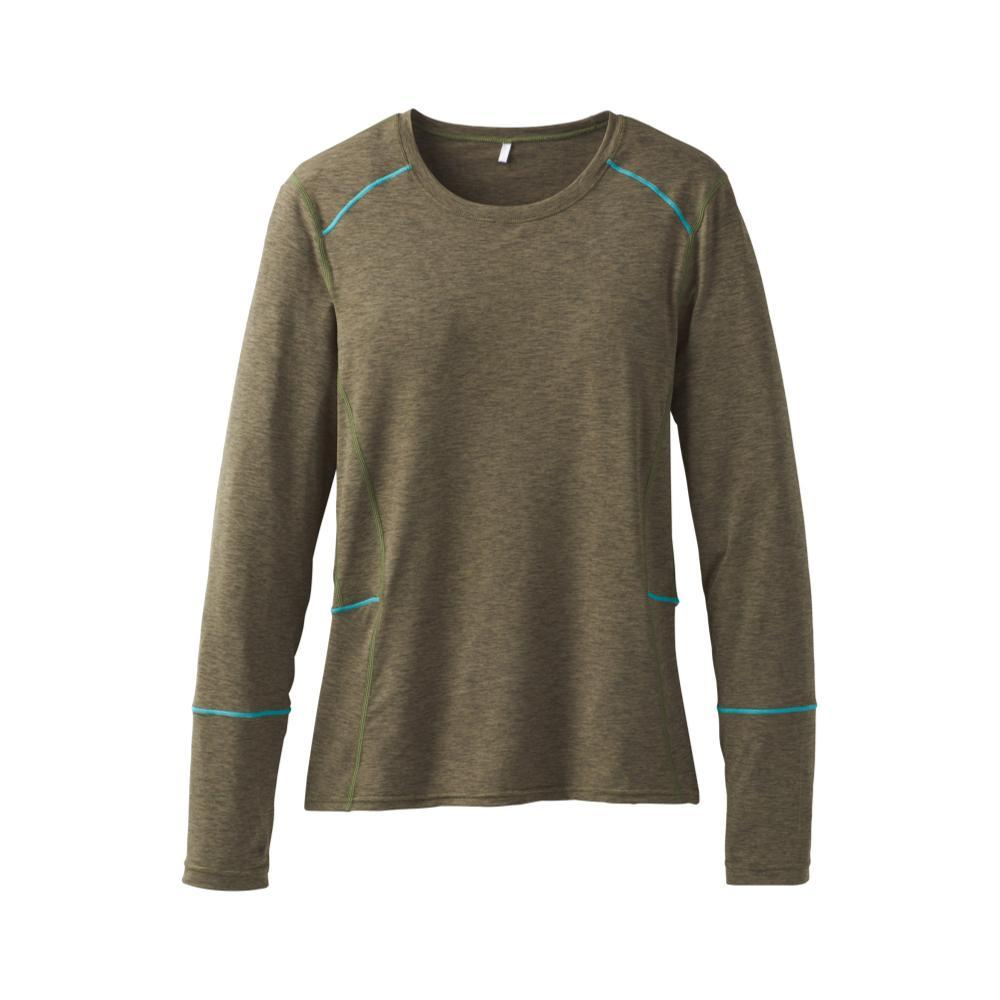 prAna Women's Long Sleeve Eileen Sun Top CARGREEN