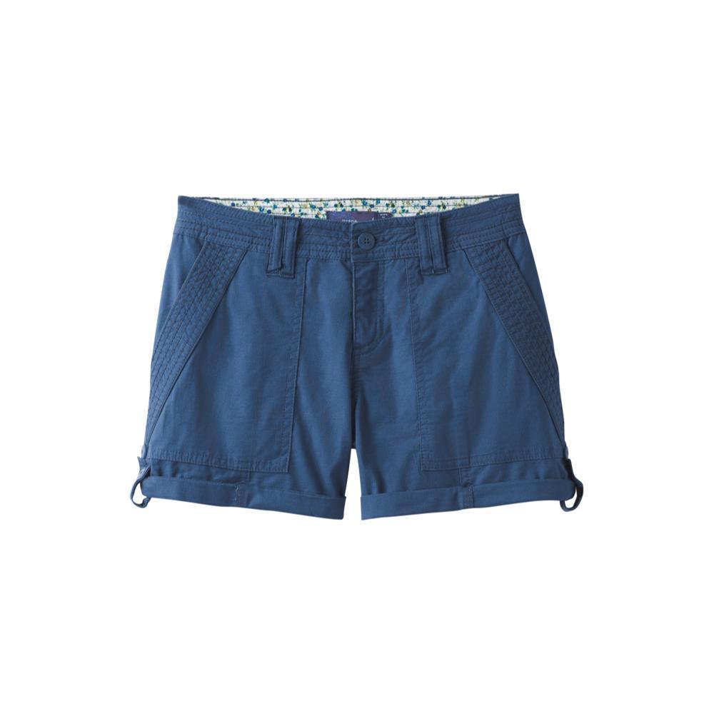 prAna Women's Mari Shorts EQUIBLUE