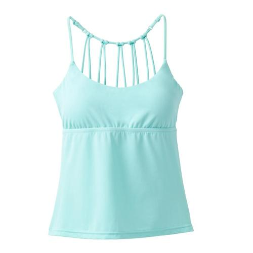 prAna Women's Merrow Tankini Top Succgreen