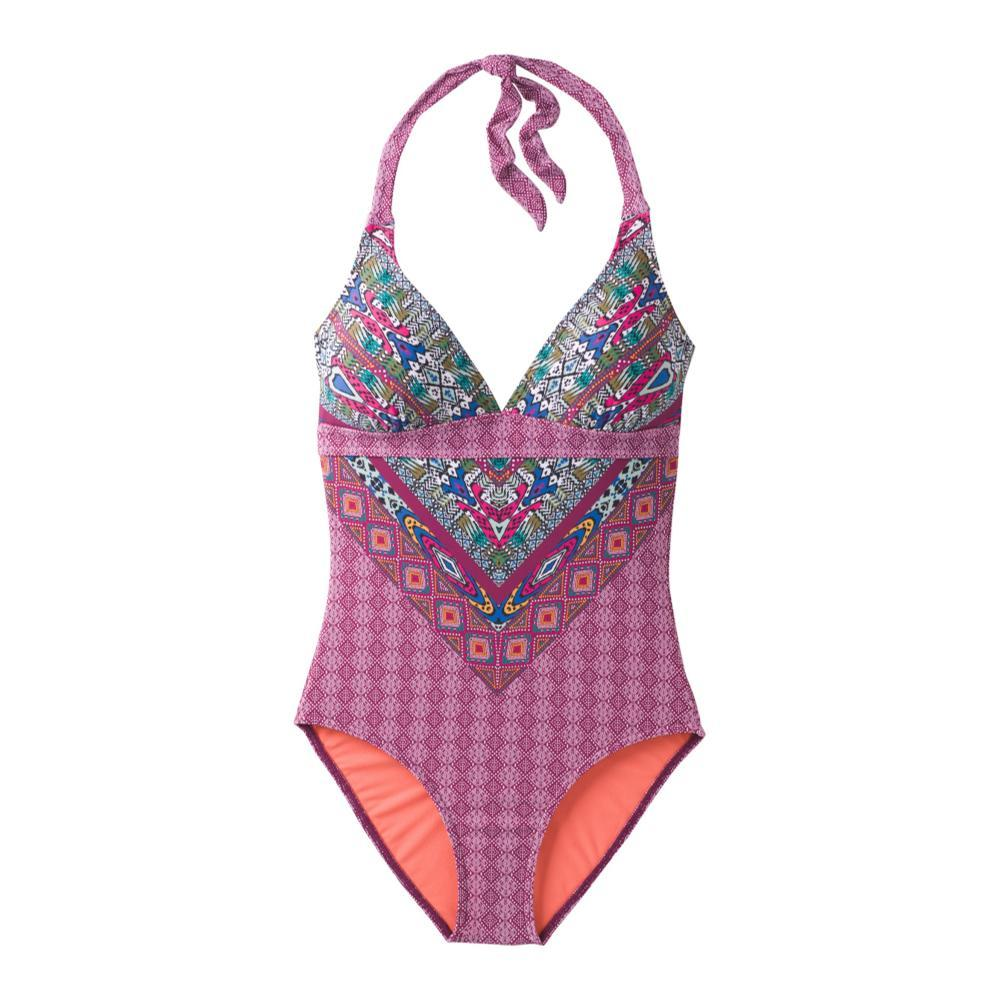 prAna Women's Lahari One Piece Swimsuit POMEMARR