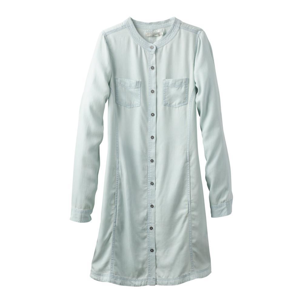 prAna Women's Aliki Shirt Dress WHTWASH