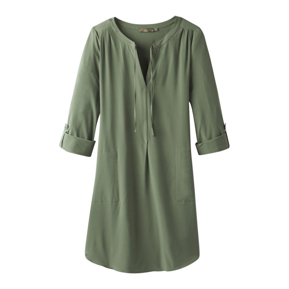 prAna Women's Natassa Dress FORGREEN