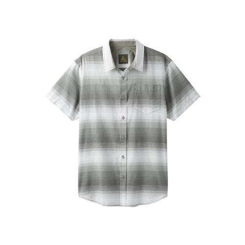 prAna Men's Tamrack Stripe Short Sleeve Shirt