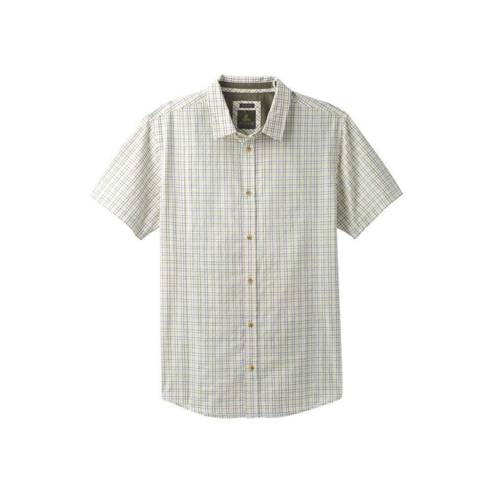 prAna Men's Lukas Slim Short Sleeve Shirt BIOGREEN