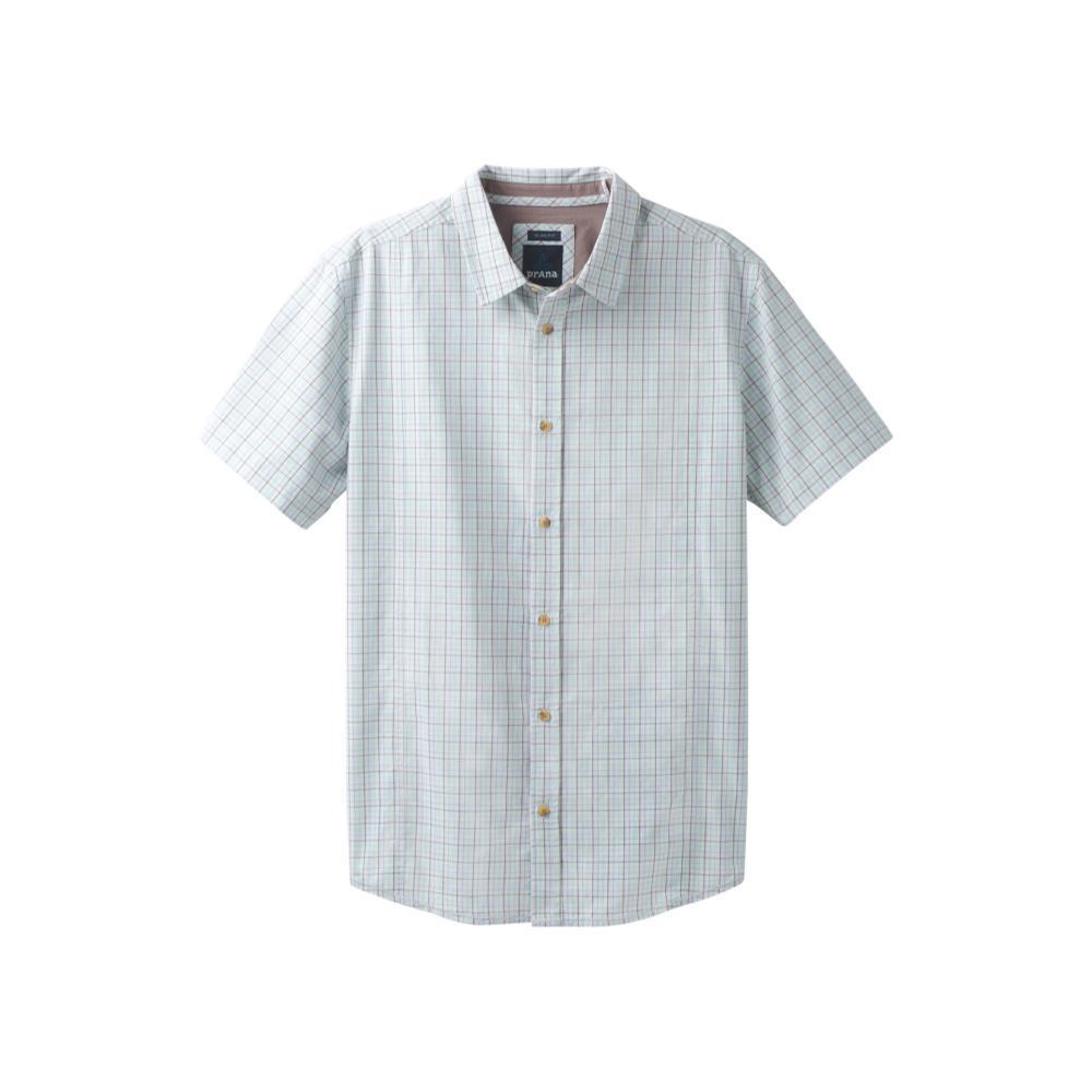 prAna Men's Lukas Slim Short Sleeve Shirt SUCCGREEN