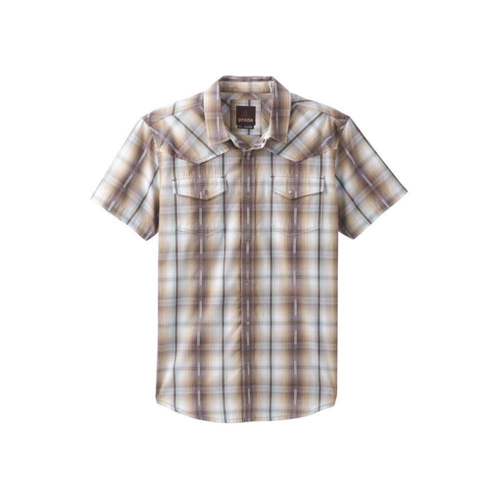 prAna Men's Holstad Short Sleeve Shirt VOLPLUM