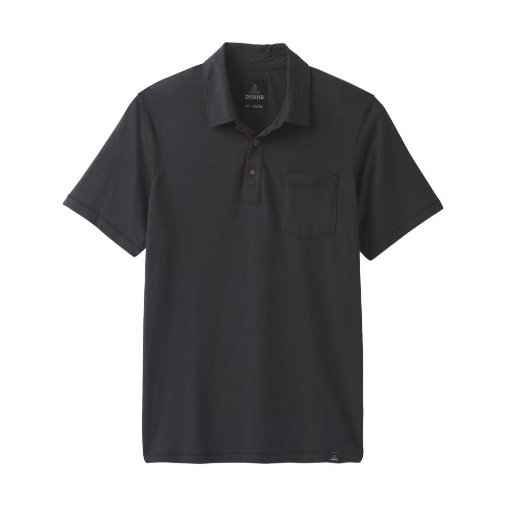 prAna Men's prAna Polo Shirt BLACK