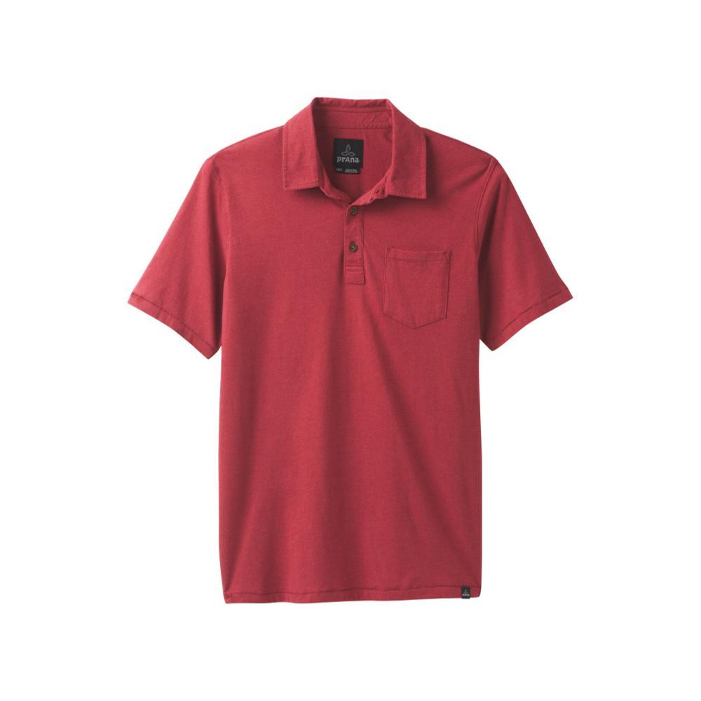 prAna Men's prAna Polo Shirt CRIMSON