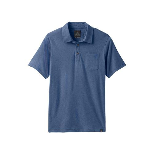 prAna Men's prAna Polo Shirt Denimhthr