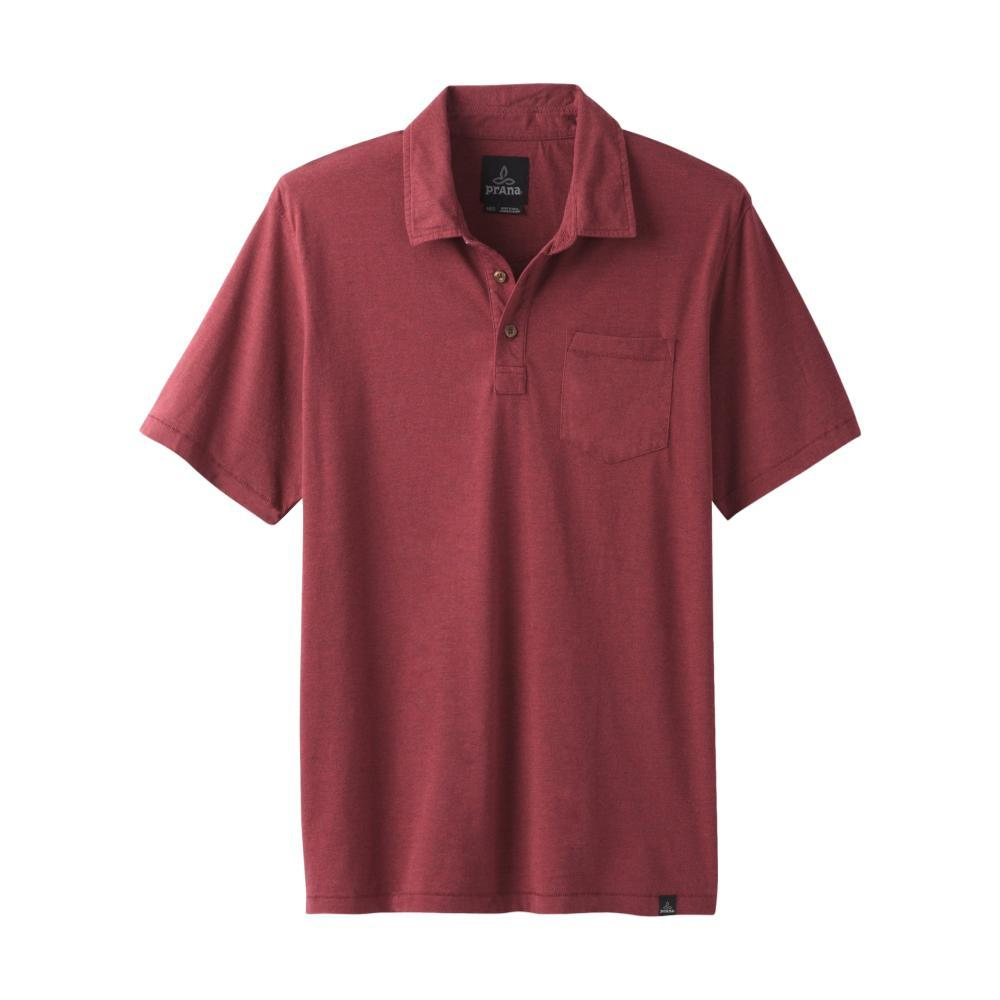 prAna Men's prAna Polo Shirt RUSTEDHTHR