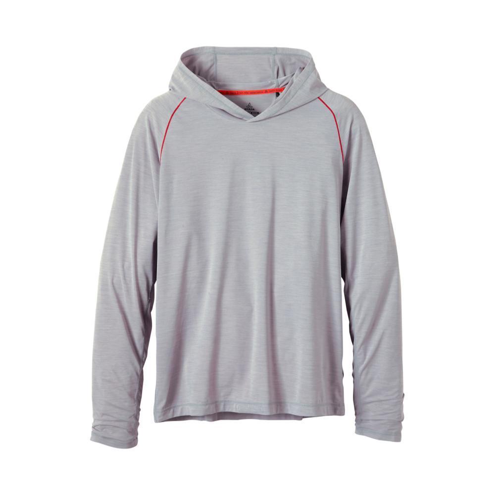 prAna Men's Calder Long Sleeve Hoodie GREY