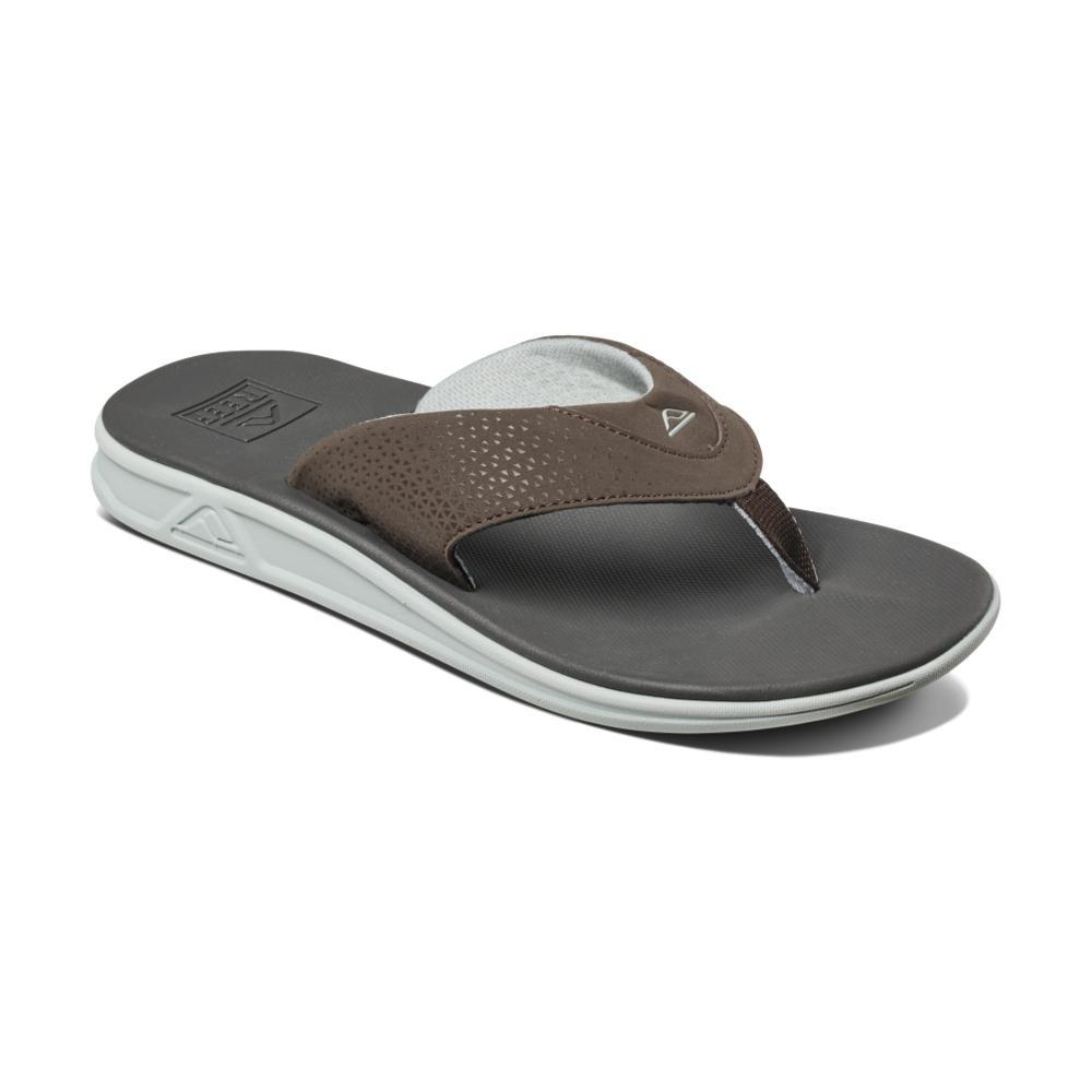 Reef Men's Rover Sandals DRKGRY.BRN