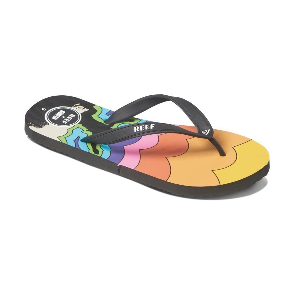 Reef Brazil Surf Sandals Size 10 Woman's