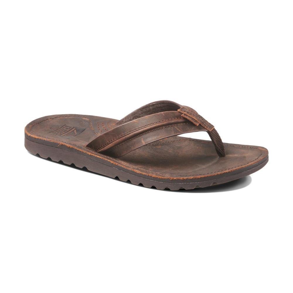 Reef Men's Voyage Lux Sandals DRKBRN_DAB