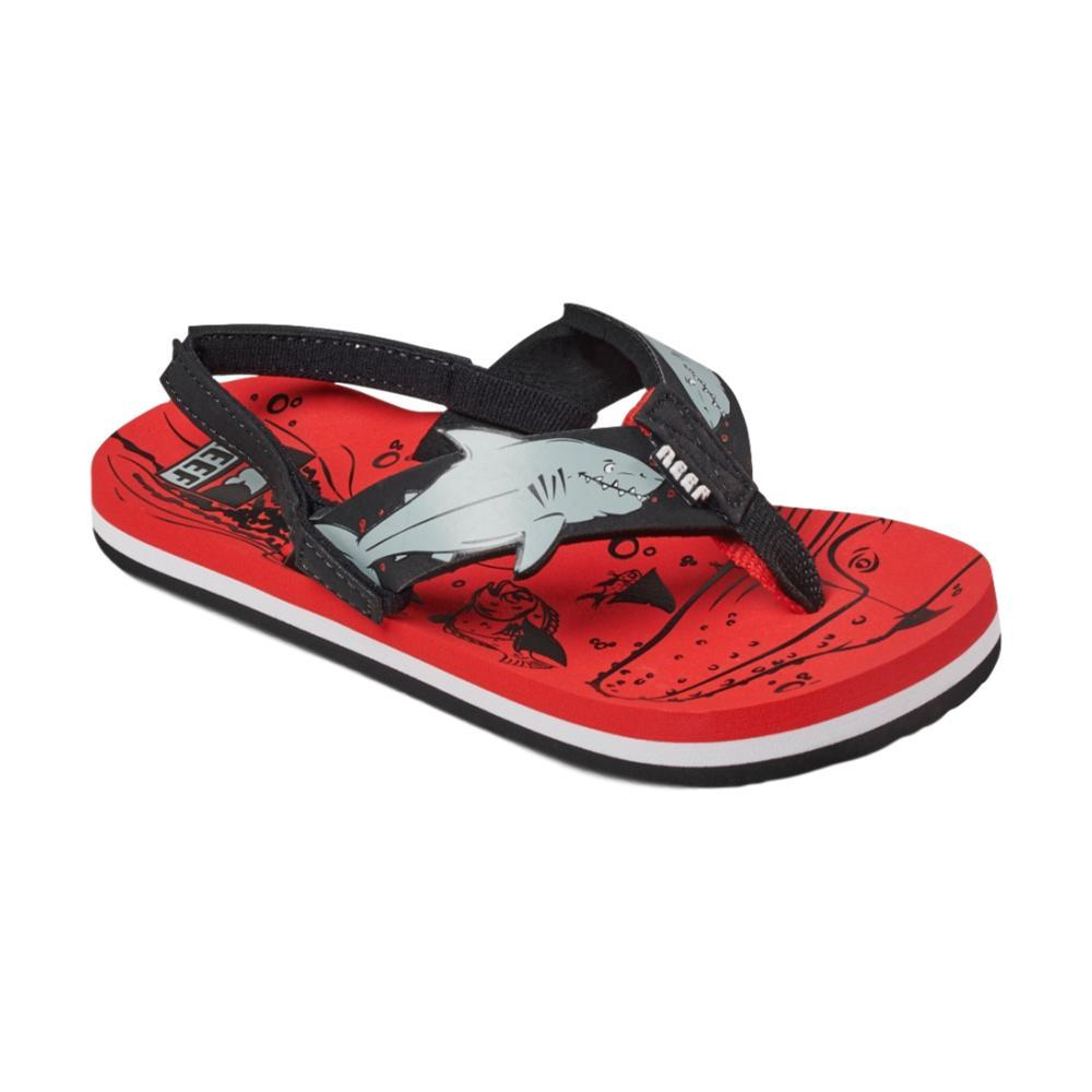 Reef Boys Ahi Shark Sandals REDSHRK_RSH