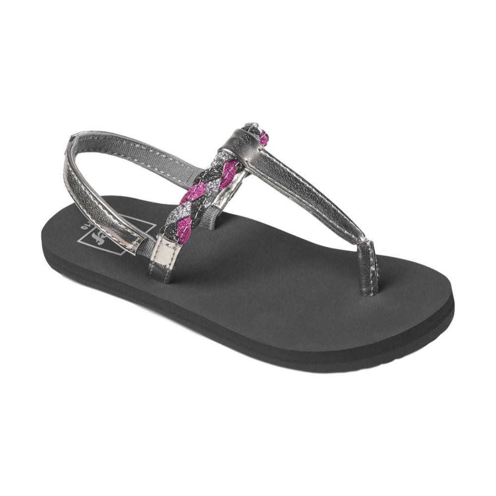 Reef Girls Little Twisted T Sandals