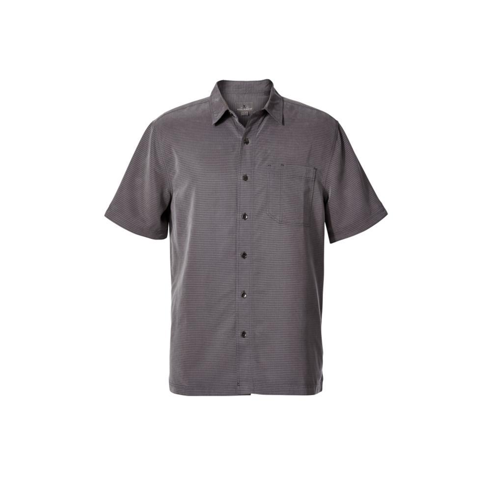 Royal Robbins Men's Desert Pucker Dry Short Sleeve Shirt ASPHALT