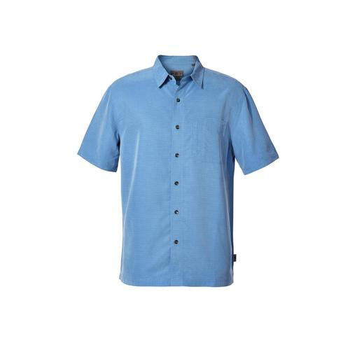 Royal Robbins Men's Desert Pucker Dry Short Sleeve Shirt Parisblue