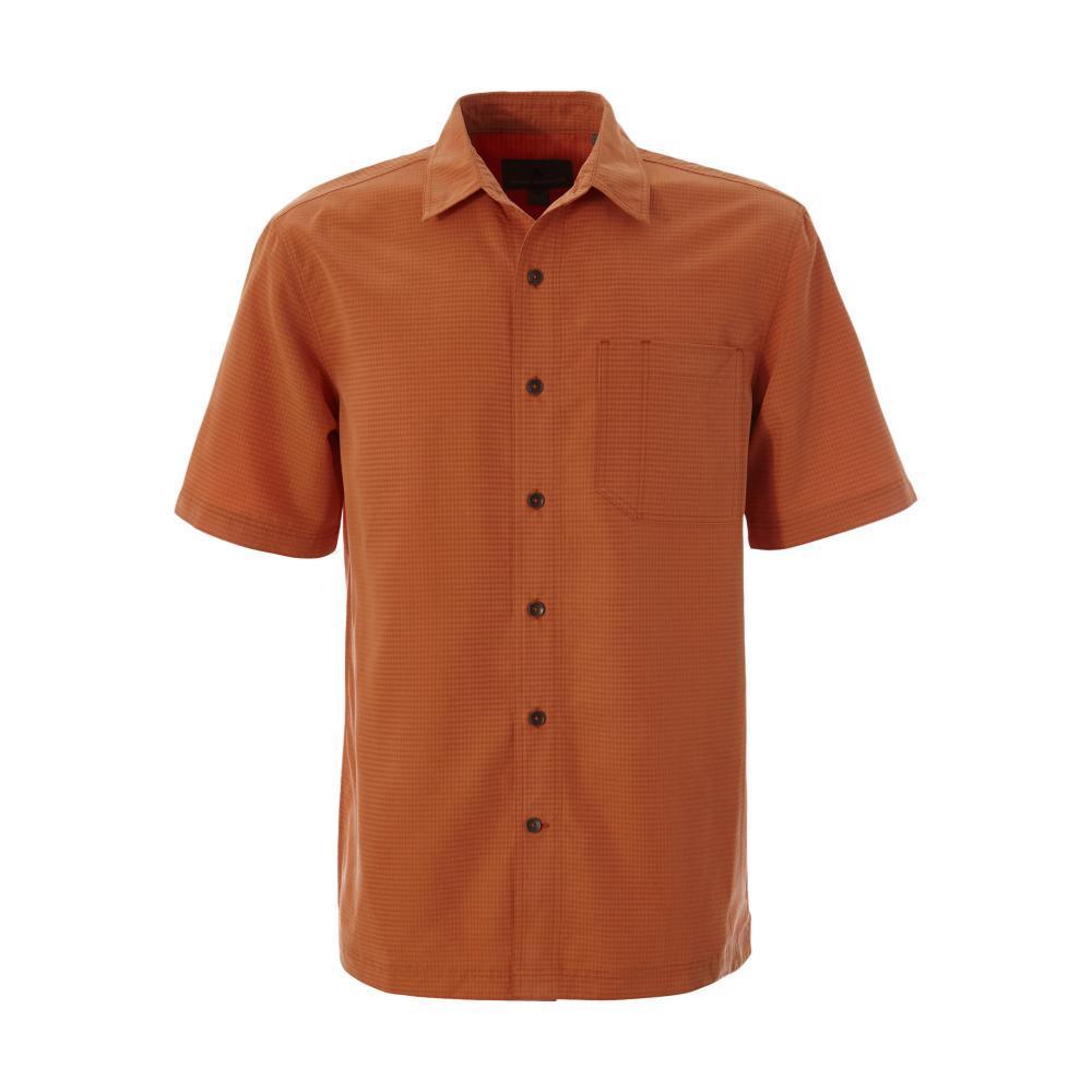 Royal Robbins Men's Desert Pucker Dry Short Sleeve Shirt SUNSET