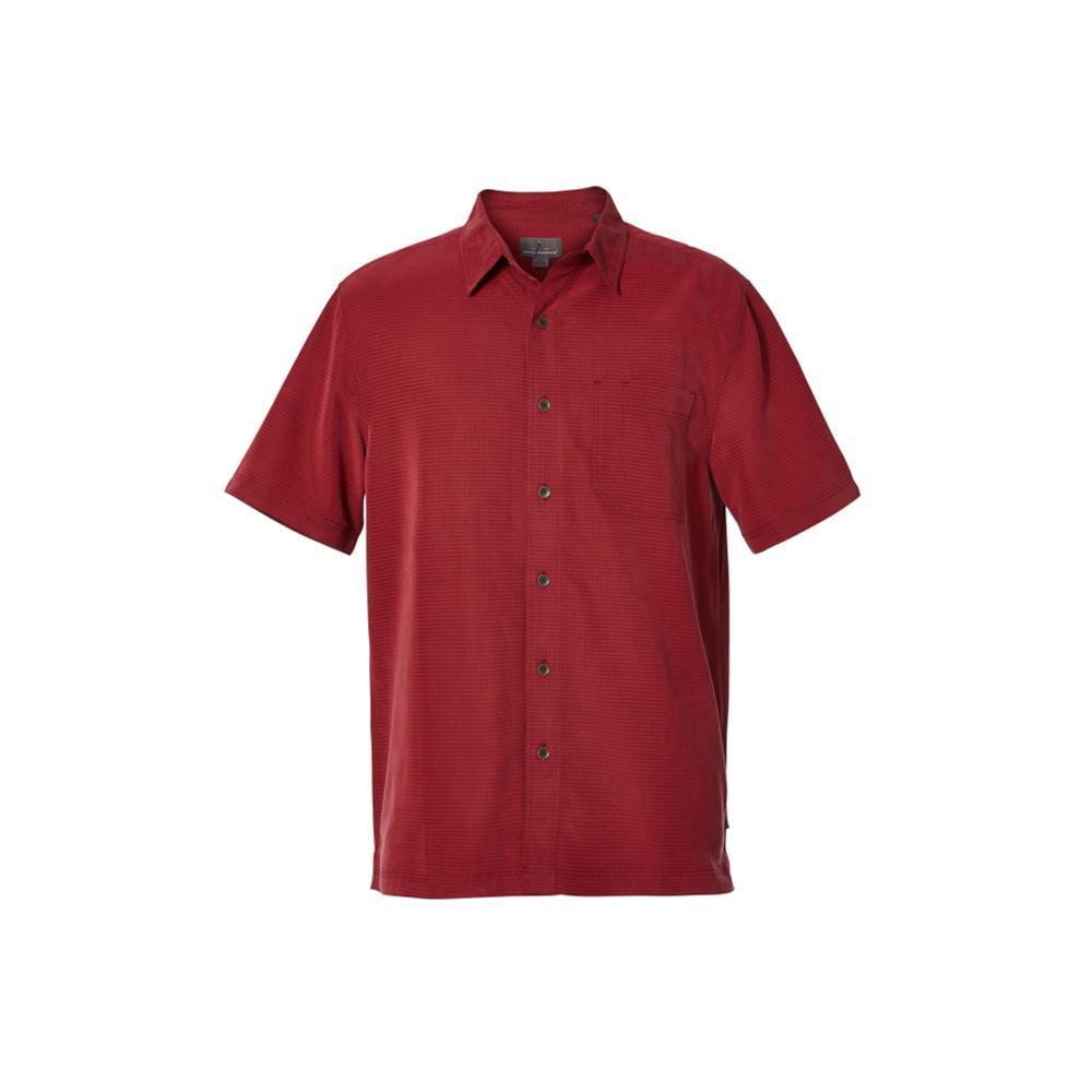 Royal Robbins Men's Desert Pucker Dry Short Sleeve Shirt SYRAH