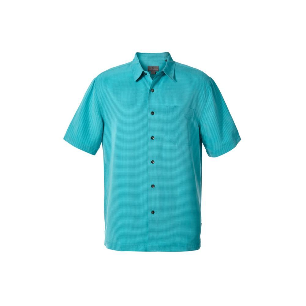 Royal Robbins Men's Desert Pucker Dry Short Sleeve Shirt VIRIGREEN