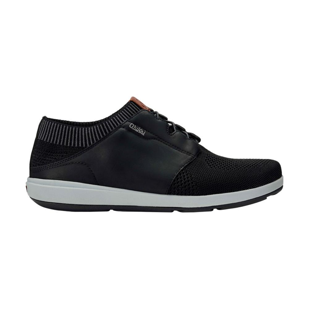 OluKai Men's Makia Ulana Shoes BLACK_4040