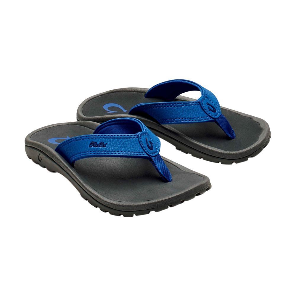 OluKai Boys 'Ohana Sandals AQUADKSHDW