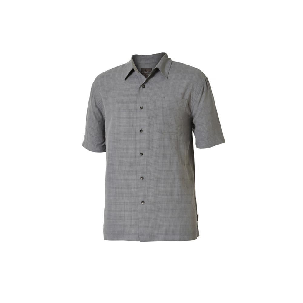 Royal Robbins Men's San Juan Dry Short Sleeve Shirt LTPEWTER