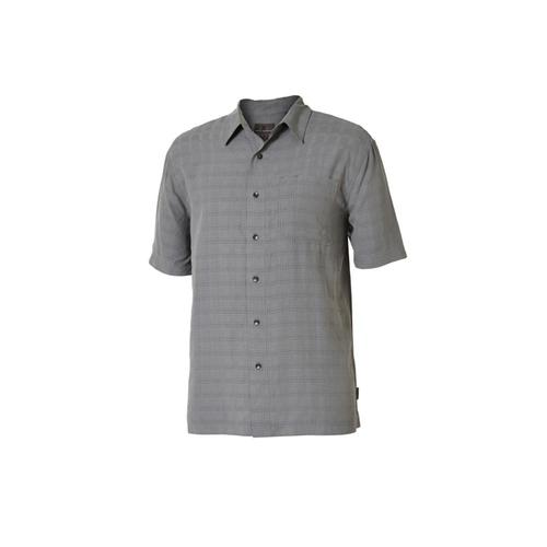 Royal Robbins Men's San Juan Dry Short Sleeve Shirt Ltpewter