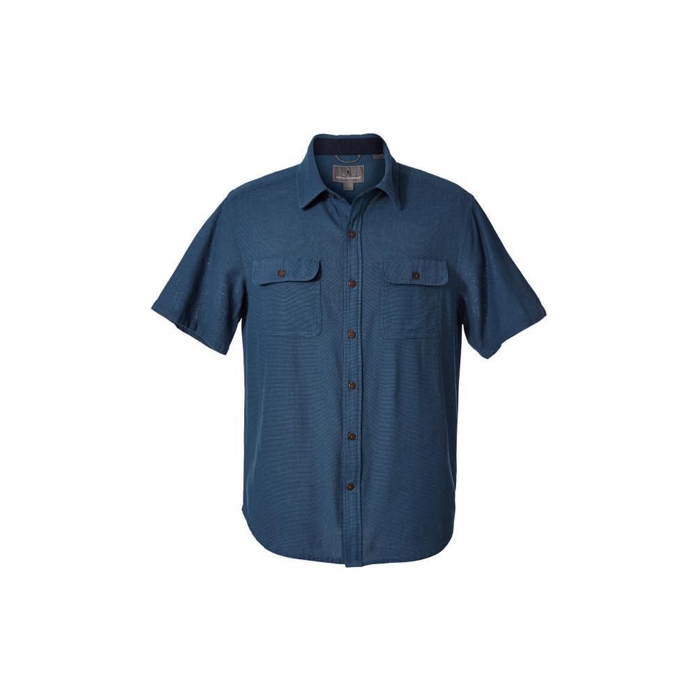 Royal Robbins Men's Cool Mesh Eco Short Sleeve Shirt BLUESTONE