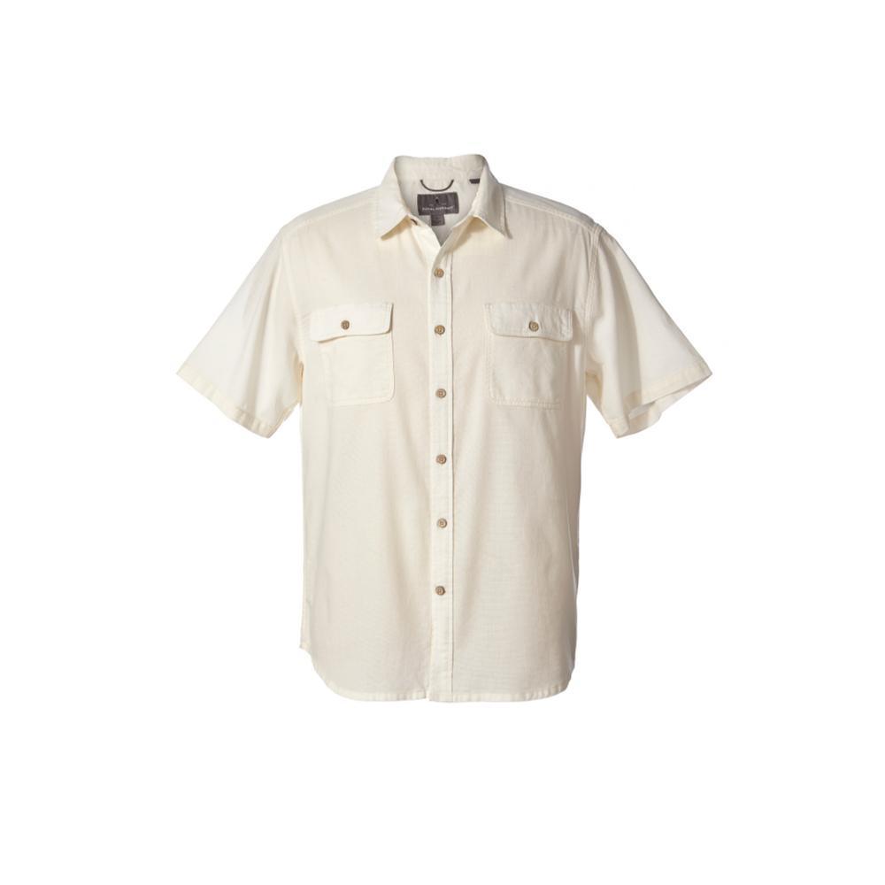 Royal Robbins Men's Cool Mesh Eco Short Sleeve Shirt CREME