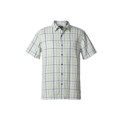 Royal Robbins Men's Mojave Pucker Plaid Short Sleeve Shirt