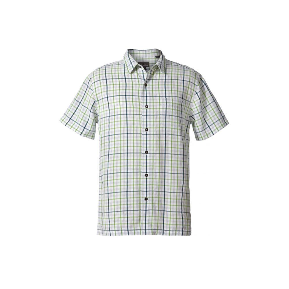 Royal Robbins Men's Mojave Pucker Plaid Short Sleeve Shirt FLOGREEN