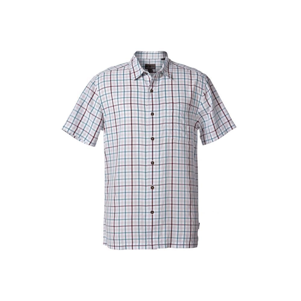 Royal Robbins Men's Mojave Pucker Plaid Short Sleeve Shirt NATLANTIC