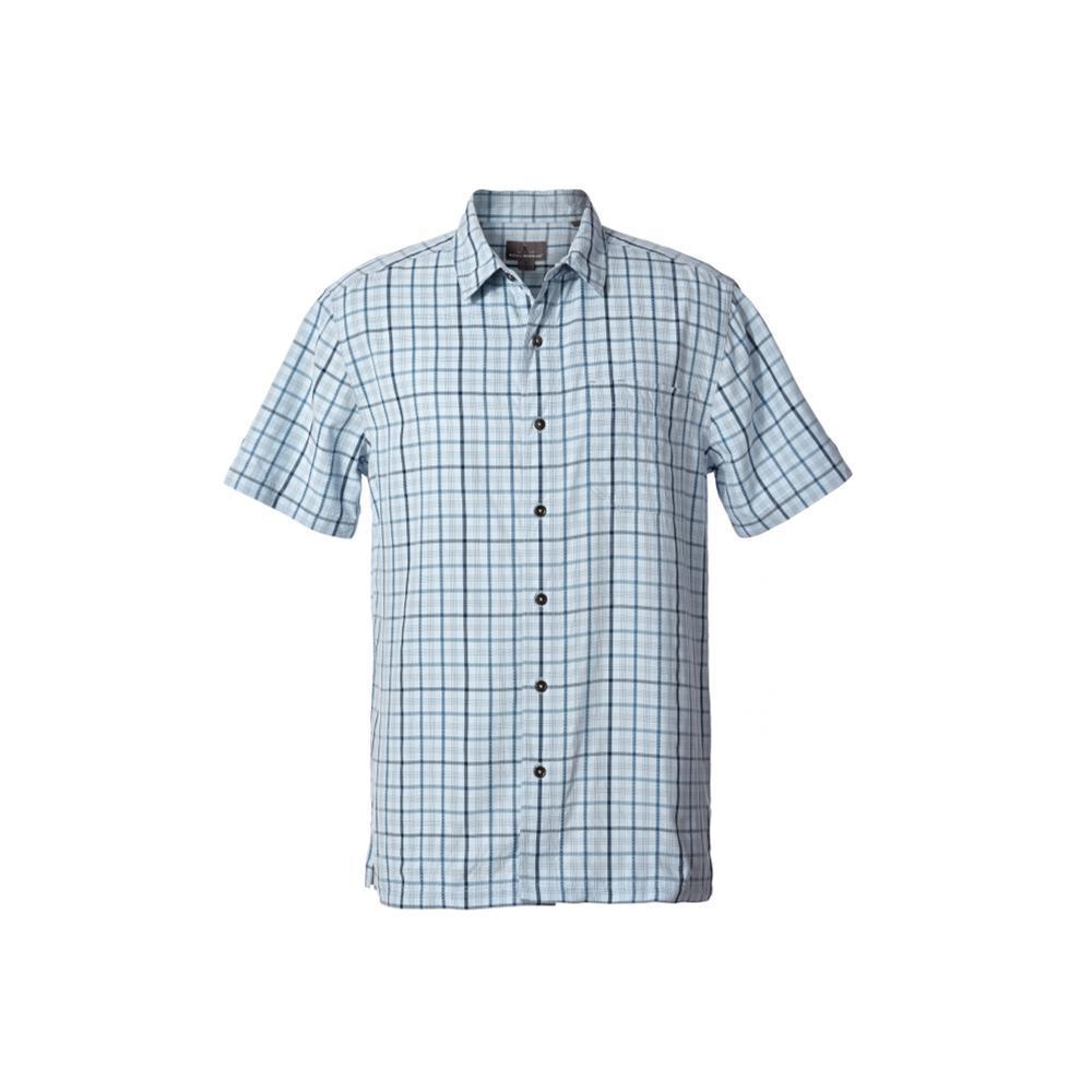 Royal Robbins Men's Mojave Pucker Plaid Short Sleeve Shirt WINTSKY