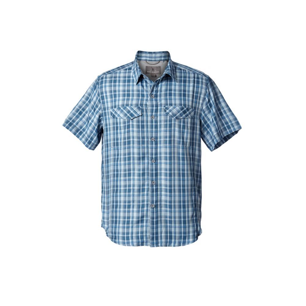 Royal Robbins Men's Ultra Light Short Sleeve Shirt BLUESTONE