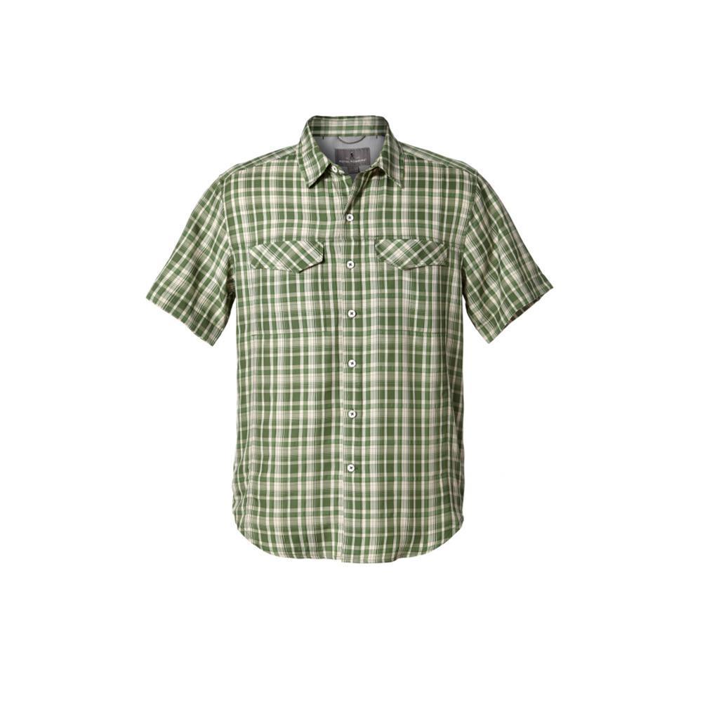 Royal Robbins Men's Ultra Light Short Sleeve Shirt ELMGREEN