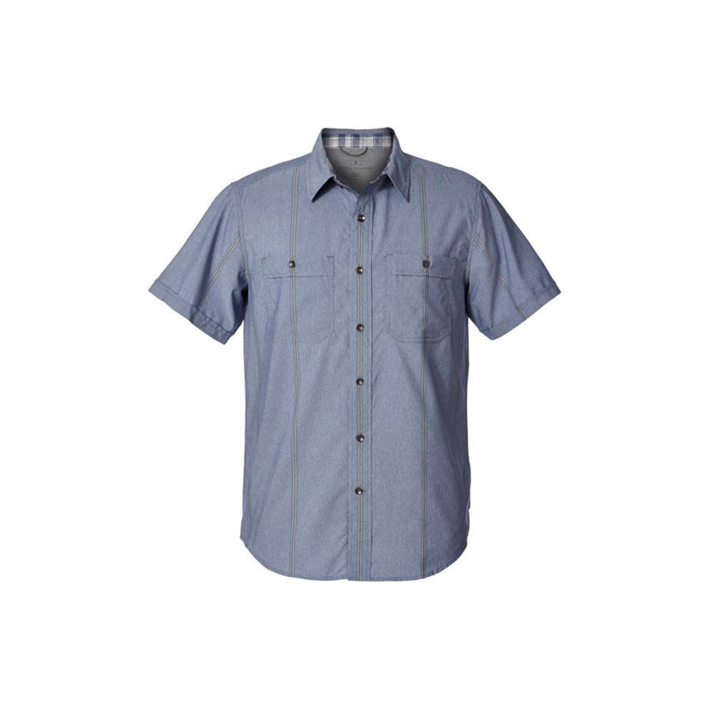 Royal Robbins Men's Vista Dry Short Sleeve Shirt DEEPBLUE