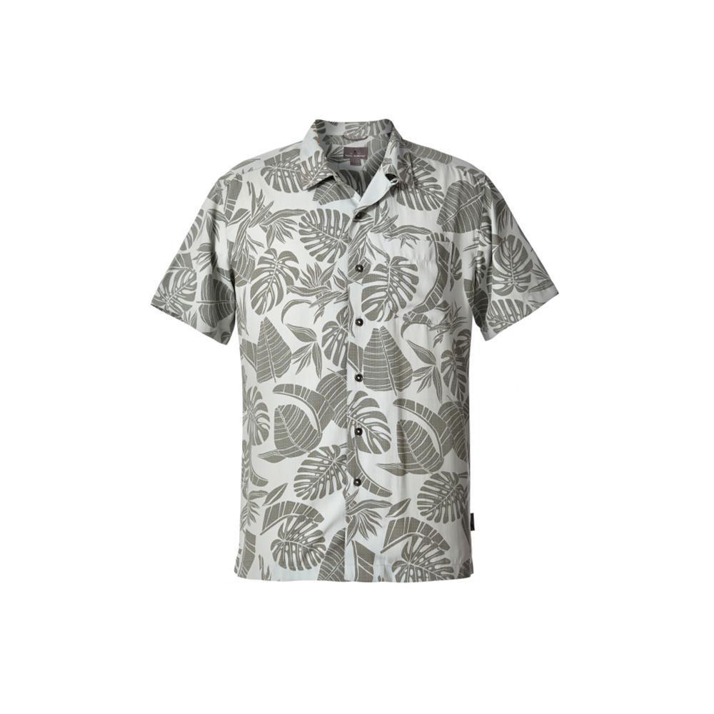 Royal Robbins Men's Throwback Palm Short Sleeve Shirt SKYGREY