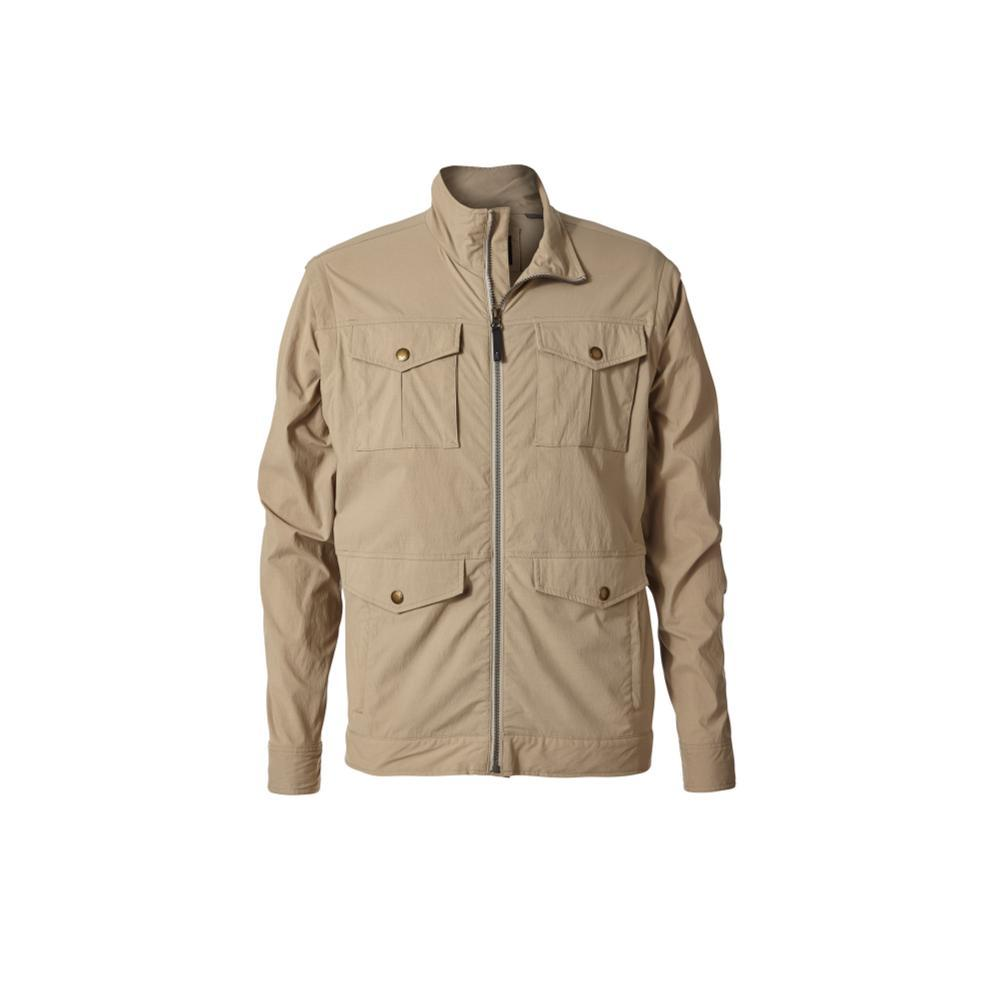Royal Robbins Men's Traveler Convertible Jacket KHAKI