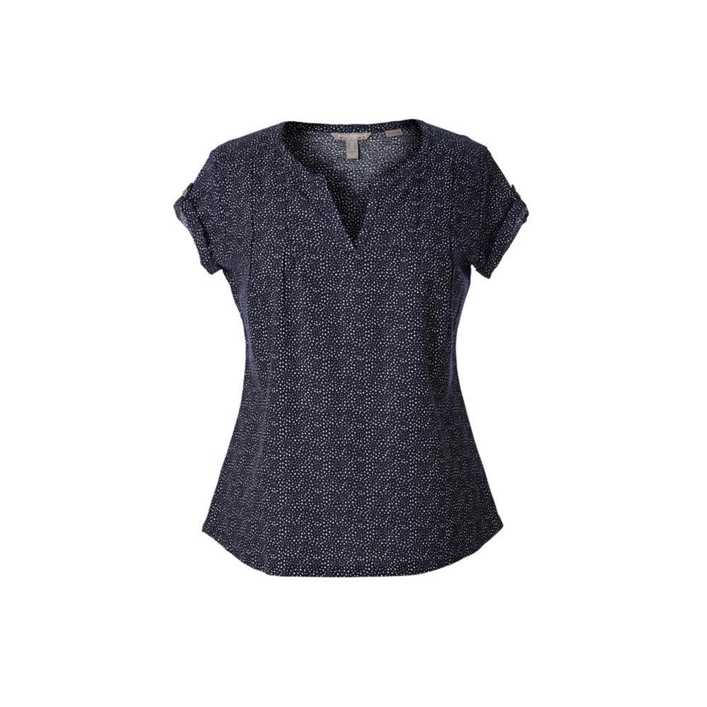 Royal Robbins Women's Cool Mesh Eco Short Sleeve Shirt BLUE