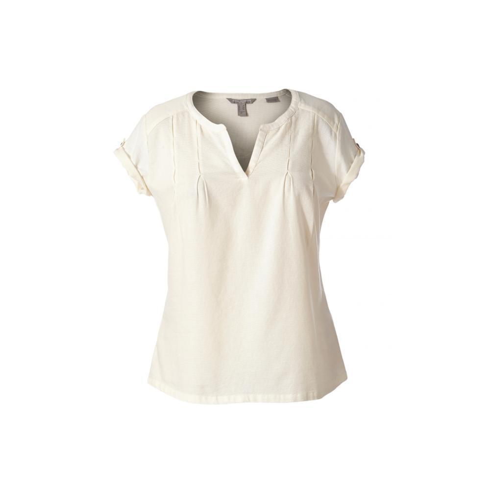Royal Robbins Women's Cool Mesh Eco Short Sleeve Shirt CREME