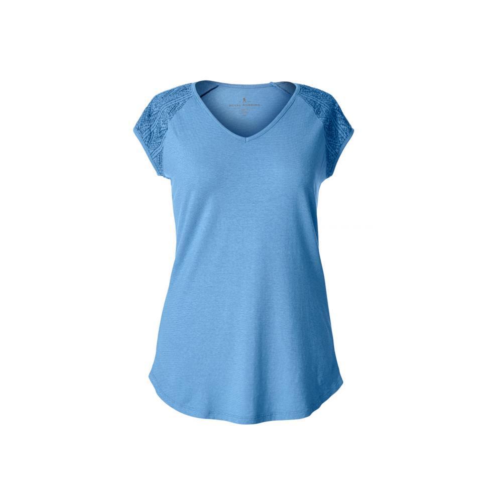 Royal Robbins Women's Flynn Short Sleeve Shirt NAUTILUS