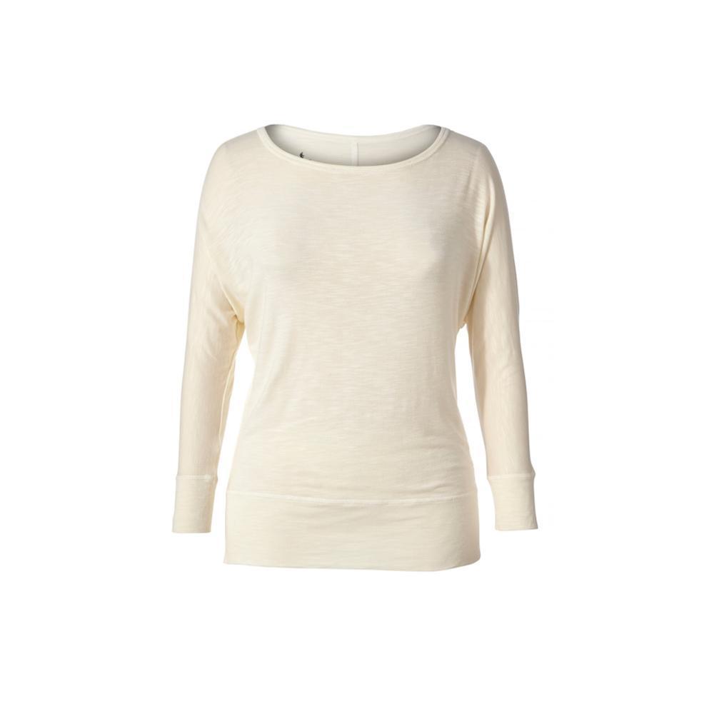 Royal Robbins Women's Noe Dolman 3/4 Sleeve Shirt CREME