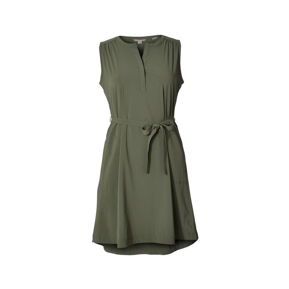 Royal Robbins Women's Spotless Traveler Tank Dress BAYLEAF
