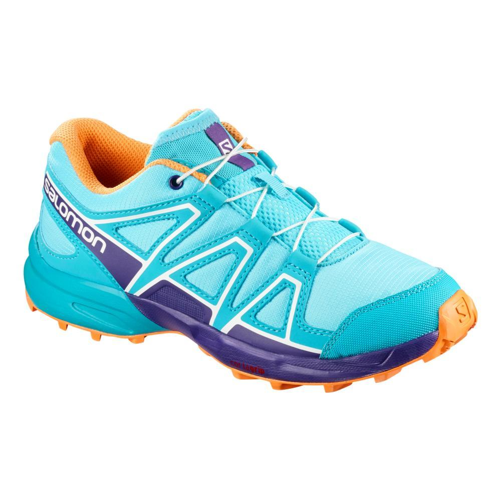 Salomon Kids Speedcross Shoes BLUECARA