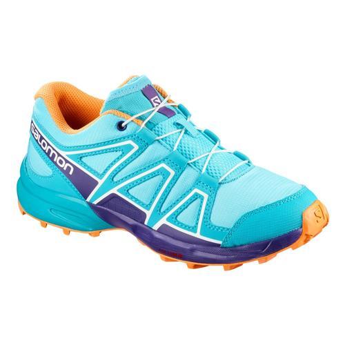 Salomon Kids Speedcross Shoes Bluecara